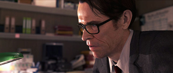 Willem Dafoe en image de synthèse dans Beyond: Two Souls