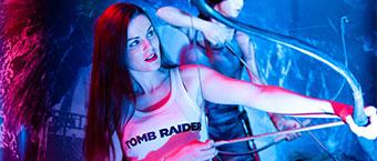 Soiree de lancement de Tomb Raider