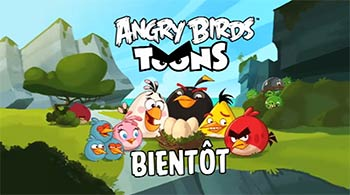 Angry Birds sur Canal J et Gulli