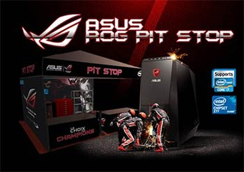 ASUS RoG à la Gamers Assembly