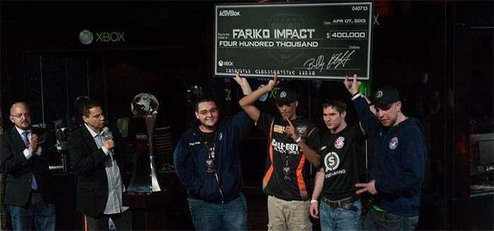 Call of Duty Championship : Fariko Impact remporte 400 000$