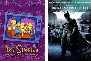 Les Simpsons - The Dark Knight Rises