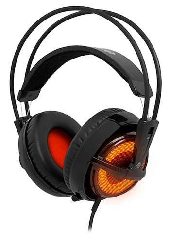 Casque SteelSeries Siberia V2 Heat Orange (image 1)