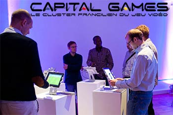 "L'espace "" Jeux : Made in France "" par Capital Games"