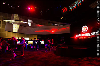 Stand Wargaming au salon E3 de Los Angeles