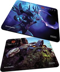 Tapis de souris SteelSeries QcK+ Dota 2 Edition