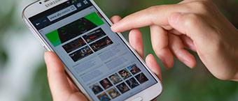 L'audience de l'internet mobile