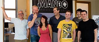 Visite chez Mando Productions