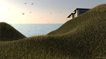 Cinema 4D : Architectural Grass