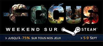 Week-End Focus Home Interactive sur Steam