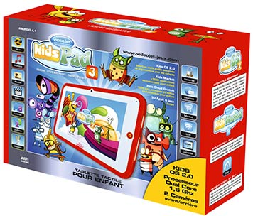 Packaging Tablette KidsPad 3
