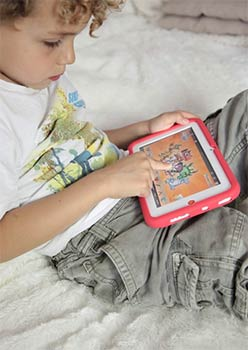 Tablette tactile KidsPad 3 en situation