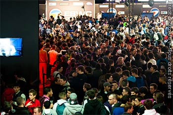 Paris Games Week (foules)