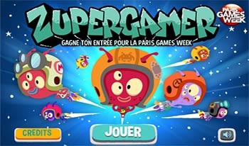 La Paris Games Week dévoile son jeu officiel : ZuperGamer