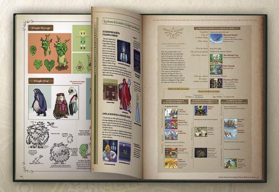 encyclopedie complete zelda