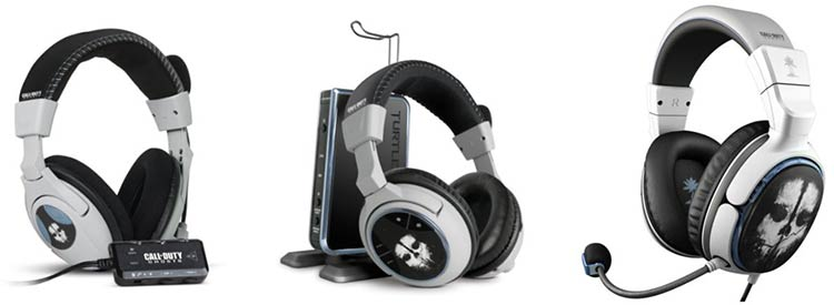 Casques Turtle Beach Call of Duty : Ghosts