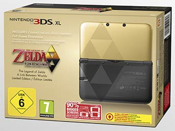 Nintendo 3DS XL The Legend of Zelda
