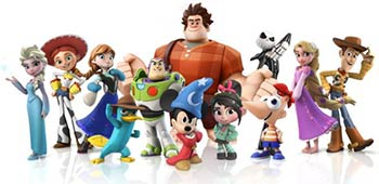 Les personnages Disney Infinity