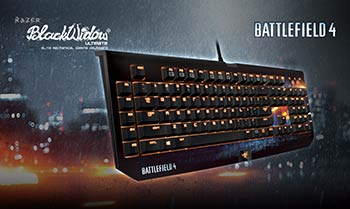 Clavier Battlefield 4 BlackWidow Ultimate