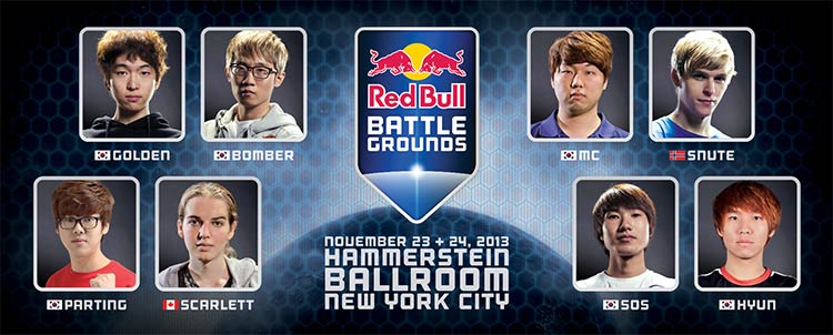 Participants Red Bull Battle Grounds