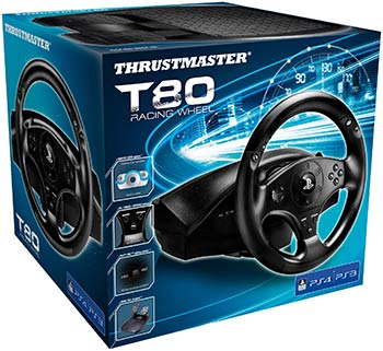T80 Racing Wheel (conditionnement)
