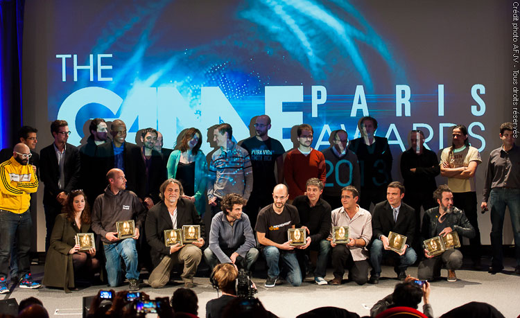 Jury et gagnants des Game Paris Awards