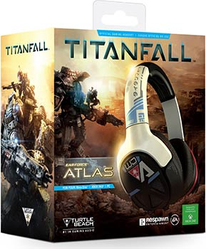 Packaging casque Turtle Beach Titanfall