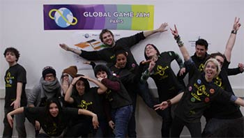 Global Game Jam Paris 2014 (image 2)