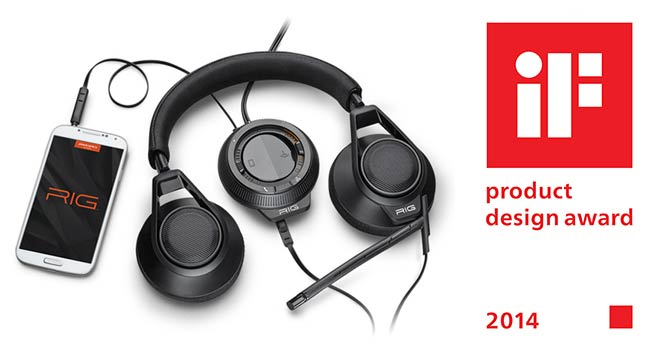 Le casque RIG de Plantronics remporte le prestigieux Prix international du design IF 2014