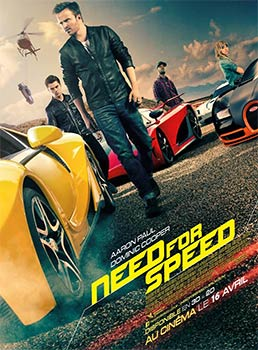 "L'affiche du film ""Need for Speed"""