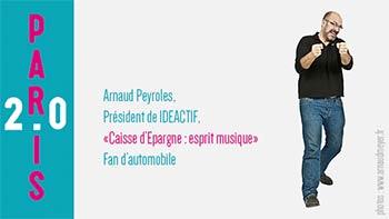 Arnaud Peyroles, Président de Ideactif