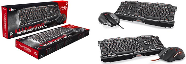 Trust Gaming Combo Pack