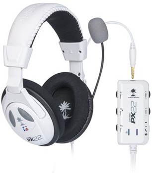 Casque Turtle Beach PX22 blanc