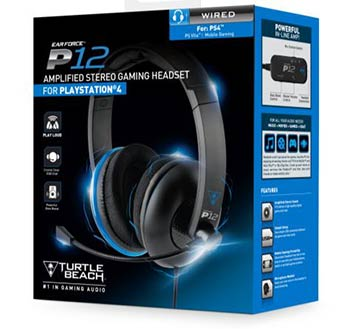 Casque Turtle Beach P12 (packaging)