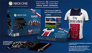 Pack Xbox One Paris Saint-Germain (PSG)