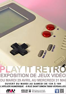 "Exposition "" Play it retro """