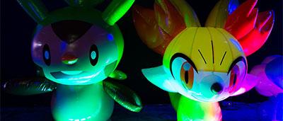 Un centre Pokemon ephemere