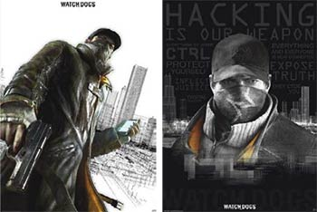 Posters Watch_Dogs