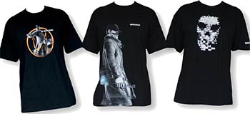 Tee-shirts Watch_Dogs