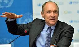 Tim Berners-Lee (Crédit photo Martial Trezzini/EPA)