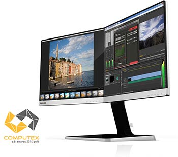 Moniteur Philips 19DP6QJNS Deux-en-Un
