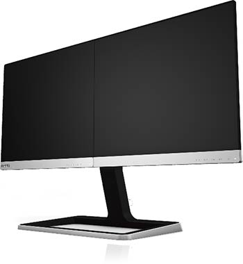 Moniteur Philips 19DP6QJNS Deux-en-Un (face)