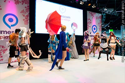 Cosplay à la Gamescom 2014
