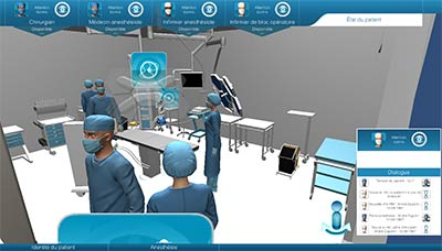 3D Virtual Operating Room