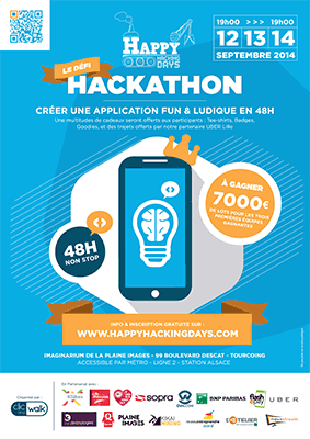 """ Les Happy Hacking Days "" : 1er Happy Hackathon en Europe"