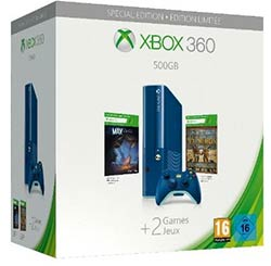 Pack Xbox 360 Call of Duty bleu arctique