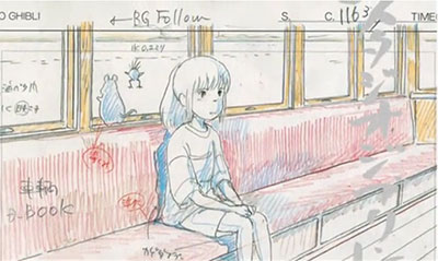 Exposition : dessins du Studio Ghibli