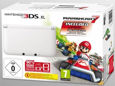 Bundle Nintendo 3DS XL Mario Kart 7