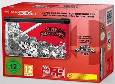 Bundle collector Nintendo 3DS XL Edition Super Smash Bros.