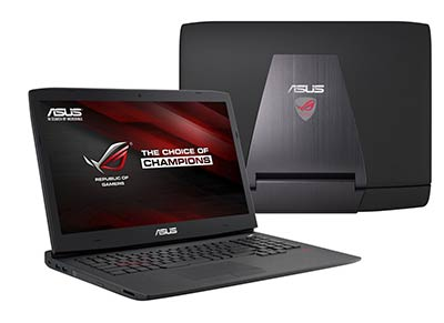 ROG G751 : nouvel ordinateur portable gaming d'Asus